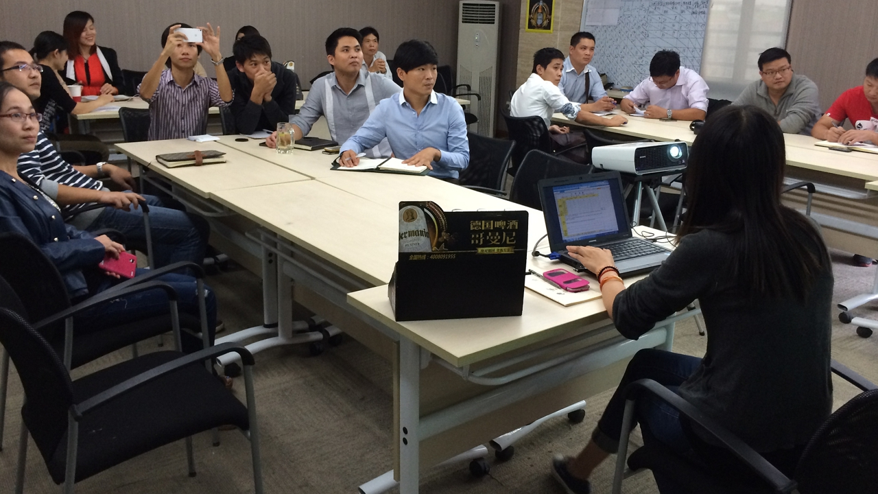 Zhimai, Sales Training